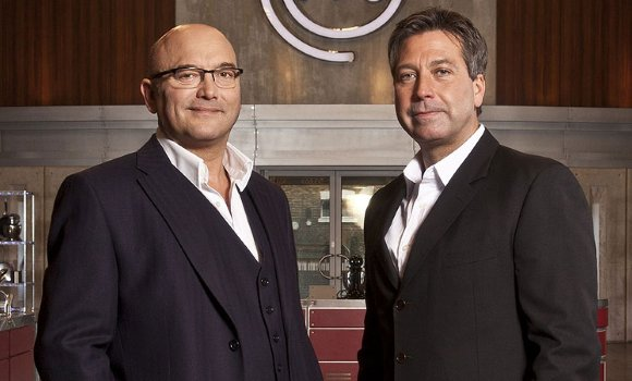 Gregg Wallace in the final week of MasterChef 2012 - BBC1